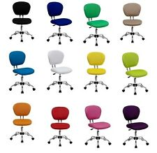 Computer Office Dorm Desk Rolling swivel Task Chair Colorful (12 colors)