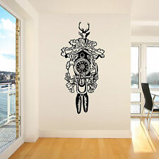 CUCKOO CLOCK Vinyl wall art sticker decal