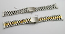 Solid Steel Strap Bracelet Replacement Watch Band For Rolex Oyster (20mm)