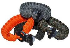 550 Paracord Firesteel Bracelet Kit - Make your own in a choice of colours