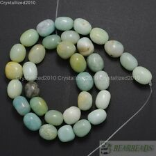 Natural Amazonite Gemstone Freeformed Nugget Spacer Beads 9~12mm Strand 15.5''