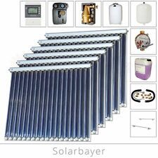 Solarbayer CPC vacuum tube collector Solar system package Complete pack