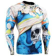 FIXGEAR CFL-19B Compression Base Layer Shirts Under Skin Tight Gym Training MMA