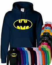 Mens Unisex Batman Hoodies Hooded Sweatshirt Pullover Sweat Hoody Sports Casual