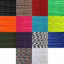 550 Type III 7 Strand Paracord Parachute Cord Light Reflective 10 25 50 100 FT