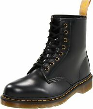 BRAND NEW GENUINE DR MARTENS UNISEX VEGAN BOOTS IN BLACK FELIX RUB OFF