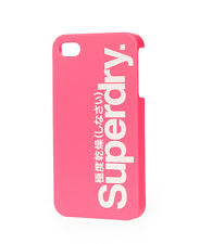 New Superdry iPhone 4/4S Shell Case Punk Pink