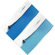 """Grosgrain Ribbon 1"""" /25mm Wide 5 Yards ,Lot BLue s #303 to #350"""
