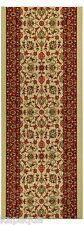 Custom Size Stair Hallway Runner Rug Rubber Back Non Skid Ivory Persian #5082