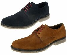 Red Tape Mens Desert Real Suede Leather Lace Shoes Gum Sole