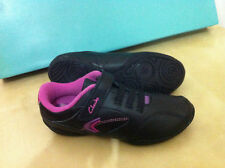 CLARKS GIRLS BLACK LEATHER YOGA LOVE BEAUTIFUL COMFY SCHOOL SHOES VARIOUS SIZES