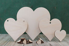Wooden heart shape craft blank Wood hearts for weddings, Plaques and pyrography