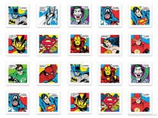 SUPERHERO CANVAS WALL ART PICTURE BATMAN SPIDERMAN DC COMIC MARVEL NEW