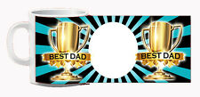 Father and Step Father Dads Day Mugs! Photo Personalised! Football Beer Fart