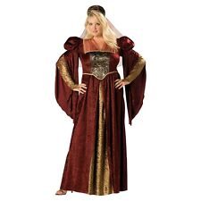 Renaissance Costumes for Women Medieval Princess Queen Maiden Fancy Dress