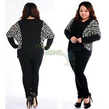 OL Plus Size Tops Batwing Sleeve T-shirt Pullover Tees Shirts Blouses1X 2X 3X 4X