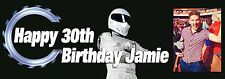 Personalised Photo Pic Party Banner Birthday, Top Gear theme banners