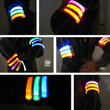 8COLORS LED Light Flash Armband Wrist Outdoor Sports Party Disco Flash Arm Band