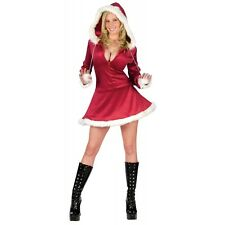Mrs Claus Costume for Women Adult Sexy Santa Outfit Christmas Fancy Dress