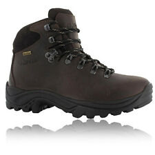 Hi-Tec Womens Lady Ravine Brown Waterproof  Outdoors Walking Trail Boots Shoes