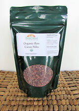 Cacao Nibs Raw 1 Kilo or 2.2 Lb Pure Organic Certified Cocoa with Free Shipping