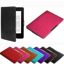 Slim Leather Case Smart Cover For Amazon Kindle Paperwhite Sleep/Wake