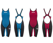 COMPETITION ARENA POWERSKIN PWS CARBON FLEX OPEN BACK FBSLO 86429 FINA APPROVED
