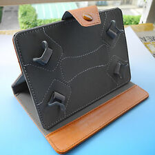"""Folder Flip leather Case cover for 7""""Amicroe TouchTAB II AMI-TT2/AMI-TTS tablet"""