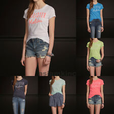 Hollister Women Graphic Tee Point Mugu T-Shirt XS S M L