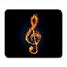 Burning Music Key Design - Mousepads or Coasters (8 Styles) -BB4210