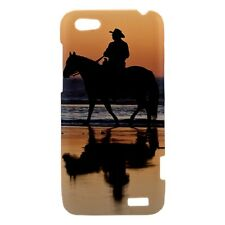 Horse Sunset - Hard Case for HTC Cell (30 Models) -OP4515