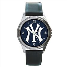 New York Yankees - Leather or Metal Watches (10 Styles)-AA5160