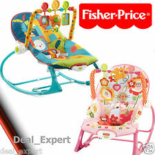 Fisher-Price Infant-To-Toddler Rocker Baby Seat Bouncer Vibrating Chair Pad NEW