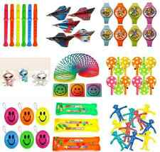 PACKS OF 10 PARTY BAG FILLERS FAVOURS TOYS & GAMES BOYS GIRLS 25 TO CHOOSE FROM