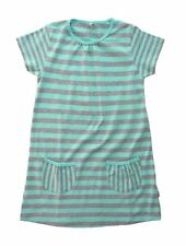 NAME IT süßes Tunika Kleid Vinnie mint grau geringelt Gr.110/116-146/152 NEU