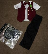 New Traditional welsh wales man boys fancy dress outfit dressing up costume