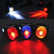 Cycling Bicycle MTB Bike Front Rear Tail Safety Flashing LED Lamp Alarm Light