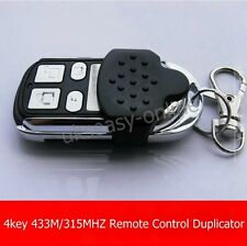 433/315MHZ 4key Channel RF Wireless Remote Control and  Receiver for Garage Door