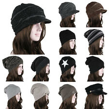 2014 Crochet Knit Oversize Men's Women's Baggy Beanie Slouchy Winter Hat Ski Cap