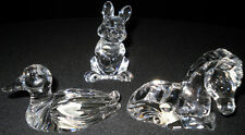 PRINCESS HOUSE 24% Full Lead Crystal PETS Collection BUNNY or DUCK or PONY