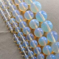 Natural Opal Gemstone Round Loose Spacer Beads 16'' Strand 4 6 8 10 12 mm