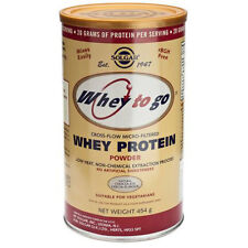 Solgar Whey to Go Protein Powder- Choice of Flavours and Sizes (One Supplied)