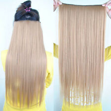 Women Long Straight Onepiece Clip in  Hair Extensions Accessories Hairpiece BP18