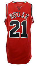 adidas Jimmy Butler Chicago Bulls Mens Swingman Performance Jersey-Red