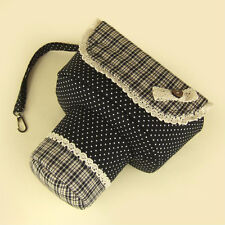Handmade Universal DSLR SLR Camera Shoulder Bag Pouch Padded Insert Case Gift