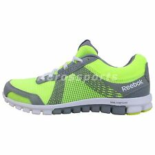 Reebok Realflex Run 2.0 Tempo Yellow Grey 2014 Womens Running Shoes