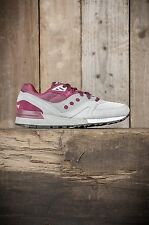 Saucony // Shadow Master // Grey/Burgundy // RRP £89.99