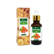 ROSEHIP OIL 100% NATURAL PURE UNDILUTED UNCUT CARRIER OIL 5ML TO 100ML