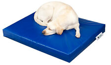 Chew Resistant Waterproof Dog Bed. Easy Clean. Tough & Robust. Cage Kennel Sleep