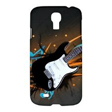 Guitar and Notes / Music Design - Hard Case for Samsung S4, S3, or S2 (YY4488)